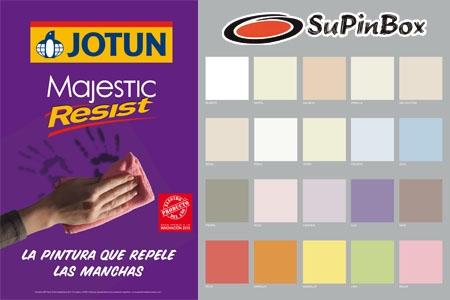 Cubeta de 2.5L de pintura repelente a las manchas y lavable JOTUN por 25€ en vez de 35€ en Supinbox