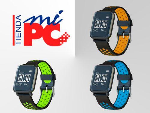 Reloj inteligente Leotec con pulsómetro, tensiómetro,…. Por 38.50€. Tienda Mi PC en Albox