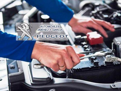Hasta el 70% descuento en mantenimientos. Automóviles Jiménez y García-Peugeot en Albox