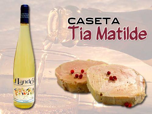 Especial Cena de Mousse de Foie de Pato al Orujo y Botella de Vino Espumoso en Caseta Tia Matilde de Cela- Lúcar