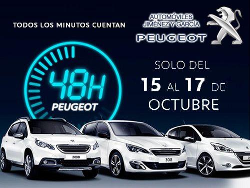 Todos los minutos cuentan! Ventajas de hasta 6000€ en vehículos nuevos con Automóviles Jiménez y Garcia-Peugeot de Albox