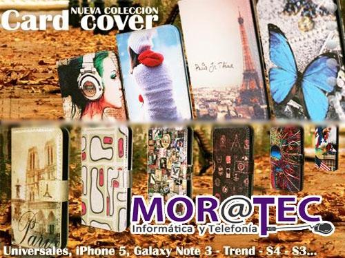 Fundas Moviles Card Cover por sólo 10 euros en Moratec Tíjola, Informática y Telefonía