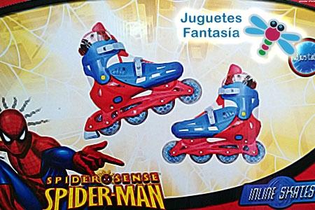 Juego de Patines Spiderman por solo 25 Euros en Juguetes Fantasía de Huercal Overa