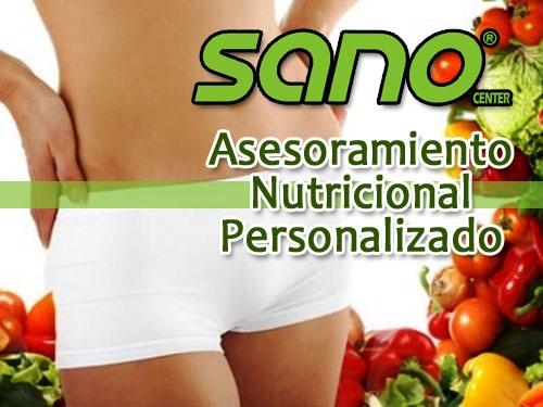 Asesoramiento Nutricional Personalizado en Sano Center Sport Albox