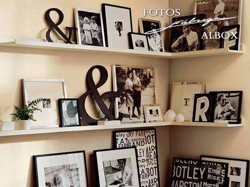 La mejor forma para decorar tu casa, tus recuerdos!! Fotos Fábrega de Albox