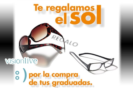 e092e1da1b Al comprar tus gafas progresivas te regalamos tus gafas de sol graduadas en  VisionLive de Albox.
