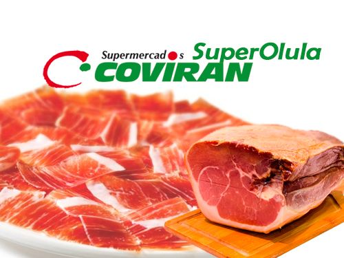 Jamón Serrano Deshuesado Baza por 9.95€/kg. Super Olula Covirán, supermercados en Olula del Río