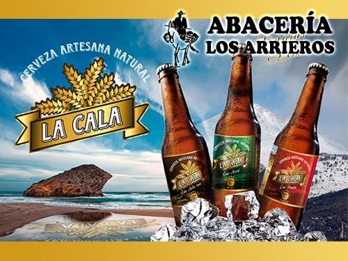 Lote de 6 cervezas artesanas almerienses La Cala por 14.50€ en Abacería los Arrieros