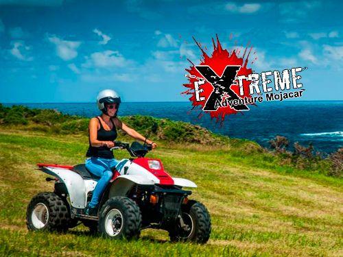 Ruta en Quad por 25 Euros. Disfruta la aventura con Extreme Adventure Mojácar