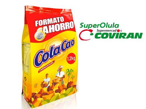 Cola Cao  1.2 kg + 200 g GRATIS, en Super Olula Covirán, supermercados en Olula del Río