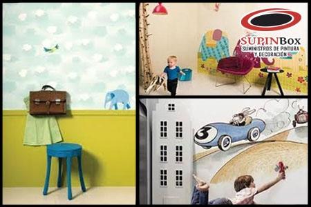 Decora tu casa con Papel Pintado y llévate un 15% de descuento en Supinbox de Albox