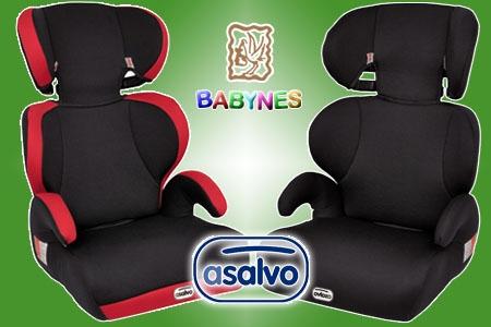 Compra silla de coche ASALVO para niños Grupo 2, 3 Travel Cool en Babynes por 49 € en Huercal Overa