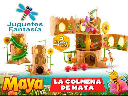 ¡Auténtica recreación de la colmena de la serie de TV La Abeja Maya! Juguetes Fantasía Huércal-Overa