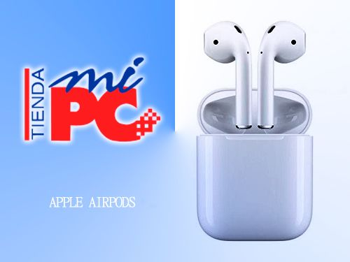 Auriculares Inalámbricos Bluetooth APPLE AIRPODS por 169€. Tienda Mi PC en Albox