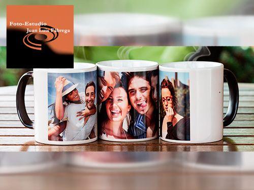 Revelado 100 fotos y Regalo Taza personalizada con tu foto en Foto-Estudio Juan Luis Fábrega de Olula del Río