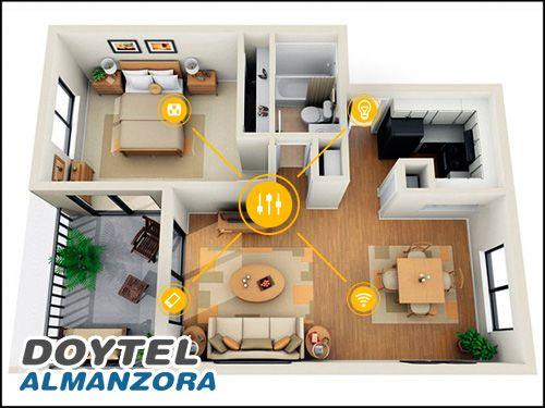 Domótica diseñada para disfrutar en casa, adaptada a cualquier bolsillo. Sistemas de Domótica con Doytel Almanzora