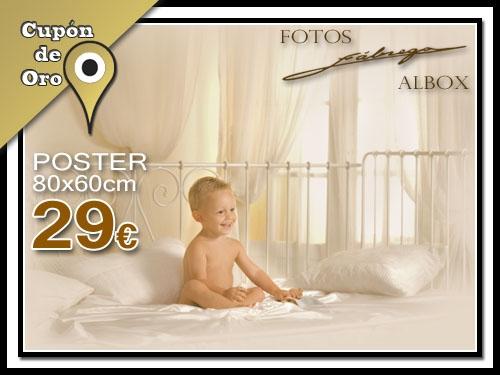 Ven a Fotos Fábrega en Albox y hazte una fotografia-poster de 80x60cm por solo 29€