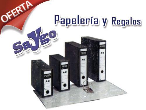 Clasificador AZ por 1.95€ en Papelería Saygo. Papelerias en Albox