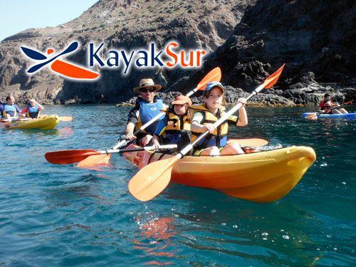 Ruta en Kayak por Cabo de Gata + Snorkell + Reportaje Fotográfico con KayakSur