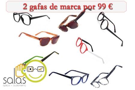 4b2ac86892 Tu 2º par de gafas de marca gratis en Salas Ópticos de Huercal-Overa