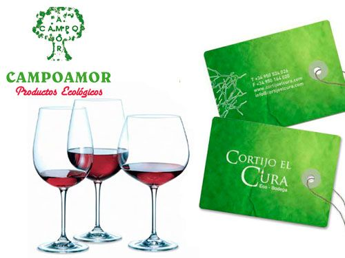 Vino ecológico Cortijo el Cura en CAMPOAMOR, productos ecológicos en Fines (Almería)
