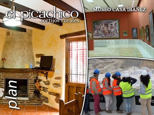 Escapada Picachico-Laroya con Visita Guiada a las Canteras y Visita Museo Casa Ibáñez