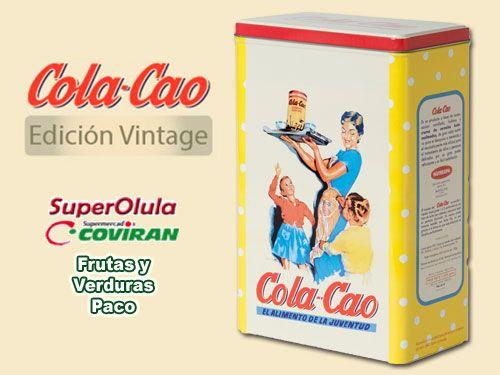 ¿Recuerdas este Cola-Cao? Ahora en Super Olula Coviran de Olula del Río