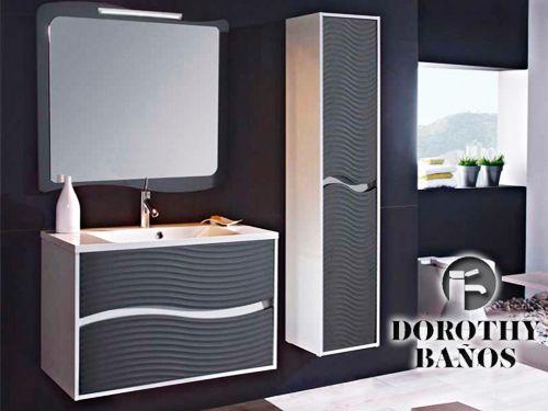 Ofertas Muebles Baño | Mueble De Bano Conjunto Ondas O Columna Ondas Desde 189 Con Dorothy