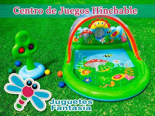 Centro de Juegos Hinchable por 19.99 euros en Juguetes Fantasía Huercal Overa