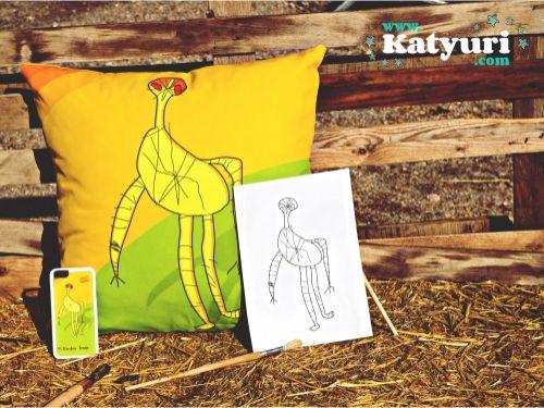 !Katyuri, convierte dibujos en productos de diseño únicos! Regalos personalizados
