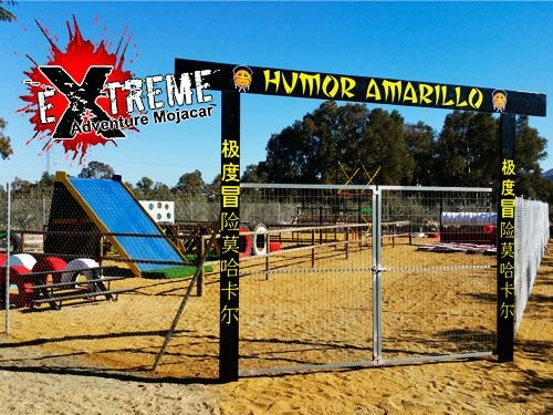 Gimkana Humor Amarillo por 15€!! Extreme Adventure Mojácar, actividades de ocio en Mojácar