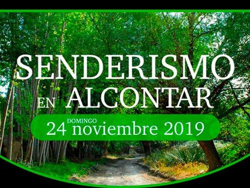 No te pierdas el senderismo en Alcontar el 24 noviembre 2019