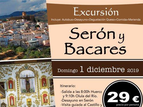 Ven a la Excursión de Serón y Bacares el 1 diciembre!!