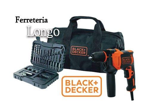 Taladro Percutor Black+Decker 710w en Ferreteria Longo Albox