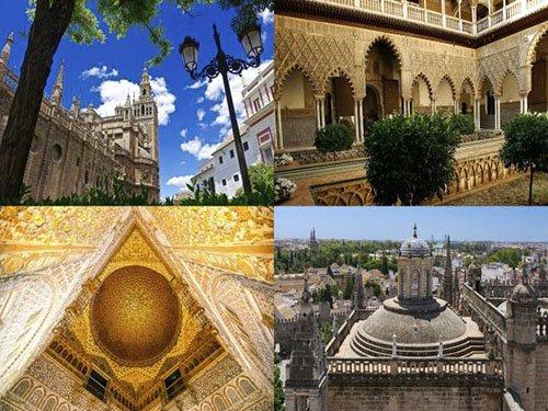 Visita guiada al Alcázar, Catedral y Giralda de Sevilla sin colas!
