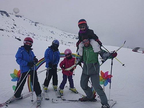 Clases de esquí en Sierra Nevada para grupos