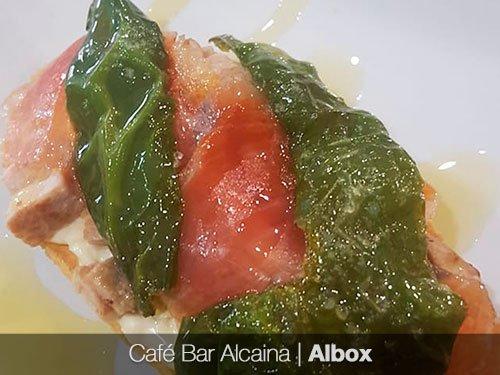 Ayuda a tu BAR: BONO 12€ Cafeteria Alcaina - Albox (Almería)