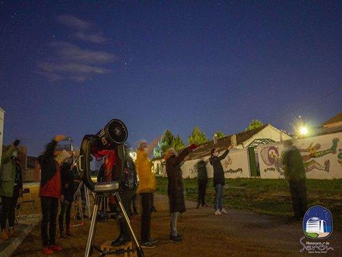 Observación del Cielo y Sesión de Planetario en Serón