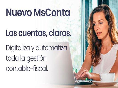 Digitaliza tu negocio fácilmente con MSConta. ¡Fácil, rápido, económico!