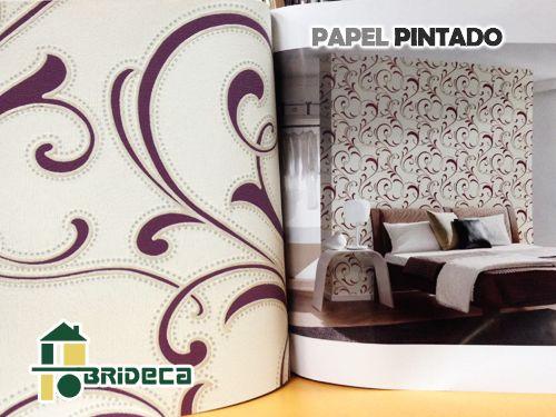Aire renovado en Papel Pintado para tu hogar. Brideca Pinturas y Decoración en Huércal-Overa