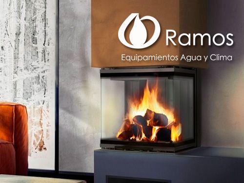 Chimeneas de leña Kratki con un 15% de descuento, en Equipamientos Ramos de Fines (Almería)
