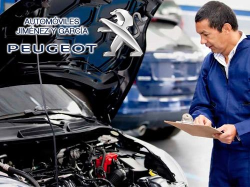 Promo-Verano. Hasta el 60% descuento en el mantenimiento de su vehículo con Automóviles Jiménez y Garcia-Peugeot de Albox
