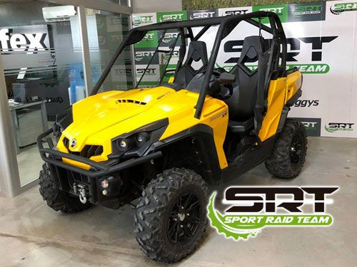 Quad Bombardier Can AM Commander 1000XT!! Sport Raid Team-Autofex, Antas