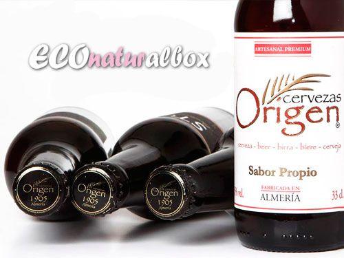Pack 2 Cervezas Origen + 1 botella de Vino ecológico  por 14.50€!! Econaturalbox, herbolarios en Albox