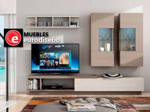 Composición de Salón por 854€. Muebles Eurodiseño, distribuidor de ...