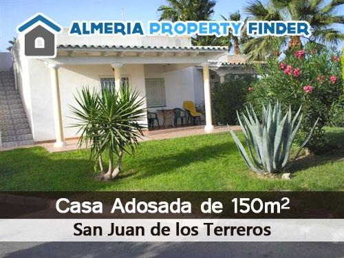 Casa Adosada de 150m2 en San Juan de los Terreros por 64.900 euros. Almería Property Finder en Albox