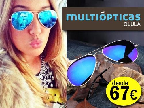 Gafas de sol graduadas desde 67 euros en Multiópticas Olula en Olula del Río