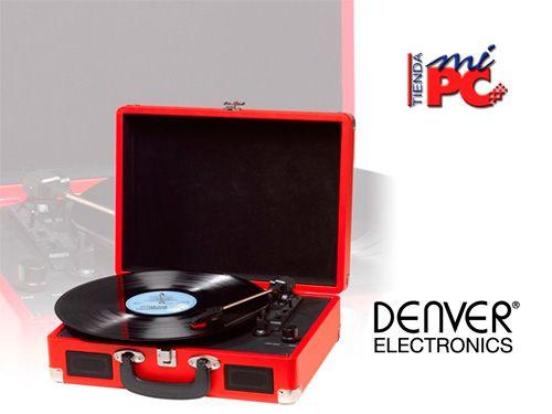Vuelven los Vinilos!! Tocadiscos Denver en Tienda Mi Pc de Albox