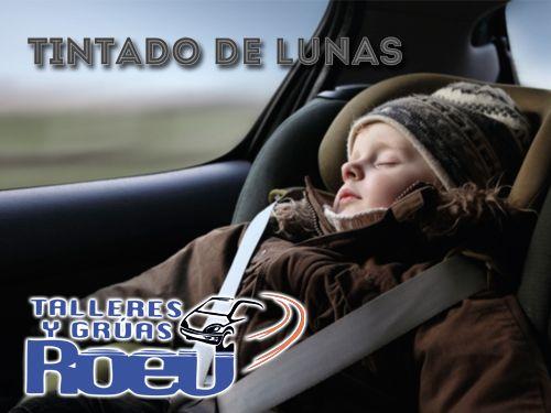 Dale más personalidad a tu coche! Tintado de Lunas homologadas en Talleres y Gruas Roev de Albox