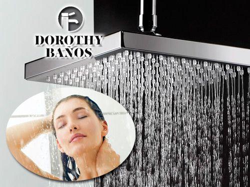 El placer de una ducha relajante,  con Dorothy Baños de Albox